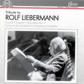 LIEBERMANN R.  - CD TRIBUTE TO ROLF LIEBERMAN