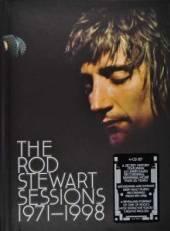 STEWART ROD  - 4xCD ROD STEWART SESS. 1971-98