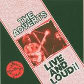 ADVERTS  - CD LIVE AND LOUD