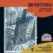 CESKA FILHARMONIE/NEUMANN VACL  - CD MARTINU : SYMFONIE C. 1, 2