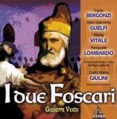 BERGONZI CARLO / GUELFI GIAN  - 2xCD VERDI : I DUE FOSCARI
