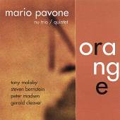 PAVONE MARIO NU TRIO / QUINTE  - CD ORANGE
