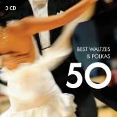 VARIOUS  - 3xCD 50 BEST WALTZES & POLKAS