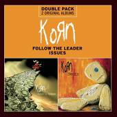 KORN  - 2xCD FOLLOW THE LEADER/ISSUES
