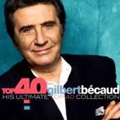 BECAUD GILBERT  - 2xCD TOP 40 - GILBERT BECAUD