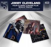 CLEVELAND JIMMY  - 4xCD 4 CLASSIC ALBUMS PLUS BONUS TRACKS