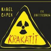 STEDRON JIRI  - 2xCD CAPEK: KRAKATIT (MP3-CD)