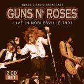 GUNS N' ROSES  - CD+DVD LIVE IN NOBLESVILLE 1991 (2CD)