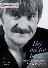 VAGNER KAROL  - DVD HEJ MISTRE BASU ..