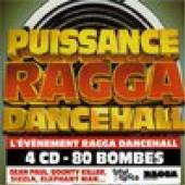 VARIOUS  - 4xCD PUISSANCE RAGGA DANCEHALL