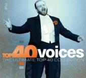 VARIOUS  - 2xCD TOP 40 - VOICES -DIGI-