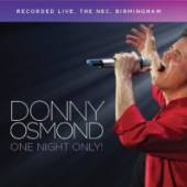 OSMOND DONNY  - 2xCD ONE NIGHT ONLY