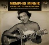 MEMPHIS MINNIE  - 4xCD VOLUME ONE - THE 1930'S