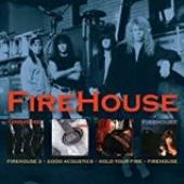 FIREHOUSE  - 3xCD 3/ GOOD ACCOUST..