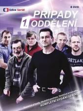 TV SERIAL  - 8xDVD PRIPADY 1. ODDELENI - KOMPLET