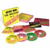 SEX PISTOLS  - 4x3CD+DVD Never Mind..