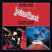 JUDAS PRIEST  - CD STAINED CLASS/RAM IT DOWN