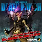 FIVE FINGER DEATH PUNCH  - 2xCD WRONG SIDE OF HEAVEN