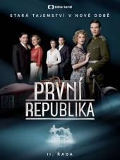 TV SERIAL  - 4xDVD PRVNI REPUBLIKA II. RADA