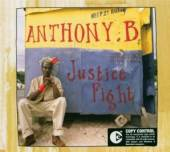 ANTHONY B  - CD JUSTICE FIGHT
