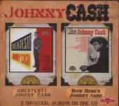 CASH JOHNNY  - CD GREATEST!/NOW HERE'S JOHN