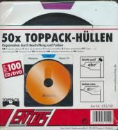 Ochranne OBALKY na CD/DVD [50 ks] + 4 farebne oddelovace - supershop.sk