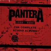 PANTERA  - 5xCD COMPLETE STUDIO ALBUMS 1990-2000