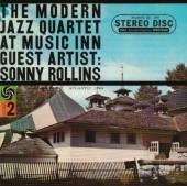 MODERN JAZZ QUARTET  - CD AT MUSIC INN WITH SONNY ROLLI