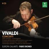 BIONDI/EUROPA GALANTE  - 9xCD VIVALDI: CONCERTI