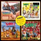 KABAT  - 4CD ORIGINAL ALBUMS 4CD VOL.1