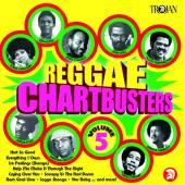 VARIOUS  - CD REGGAE CHARTBUSTERS VOL.5