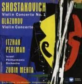 PERLMAN/MEHTA/ISRAEL PHILHARMO  - CD SHOSTAKOVICH, GLA..