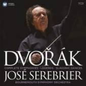 SEREBRIER JOSE/BOUREMOUTH SYM  - 7xCD DVORAK THE SYMPHONIES