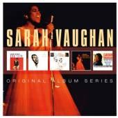 VAUGHAN SARAH  - 5xCD ORIGINAL ALBUM SERIES