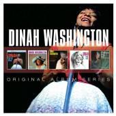 WASHINGTON DINAH  - 5xCD ORIGINAL ALBUM SERIES