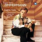 YSAYE / ZIMMERMANN FRANK-PETER  - CD VIOLIN SONATAS