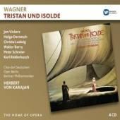 KARAJAN HERBERT VON  - 4xCD WAGNER: TRISTAN UND ISOLDE