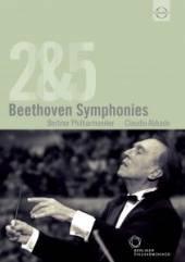 ABBADO CLAUDIO  - DVD BEETHOVEN: SYMPHONIES 2 & 5 ABBADO