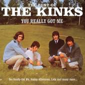 KINKS  - CD YOU REALLY GOT ME - THE BEST OF