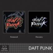 DAFT PUNK  - 2xCD HOMEWORK / DISCOVERY