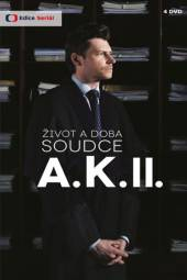 TV SERIAL  - 4xDVD ZIVOT A DOBA SOUDCE A.K. II.