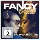 FANCY  - CD Flames of Love-His Greatest Hits