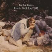 BASHO ROBBIE  - CD LIVE IN FORLI