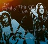 PRETTY THINGS  - 2xCD+DVD LIVE ON AIR AT.. -CD+DVD-