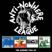 ANTI-NOWHERE LEAGUE  - 4xCD THE ALBUMS 1981-87: 4CD BOXSET