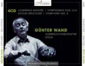 WAND GUNTER  - 4xCD BRAHMS: SYMPHON..