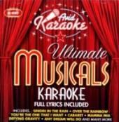 ULTIMATE KARAOKE MUSICALS / VA..  - CD ULTIMATE KARAOKE MUSICALS / VARIOUS