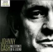 JOHNNY CASH  - CD MILESTONES OF A L..