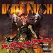 FIVE FINGER DEATH PUNCH  - CD THE WRONG SIDE OF..