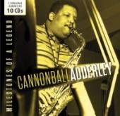 ADDERLEY CANNONBALL  - 10xCD MILESTONES OF A LEGEND